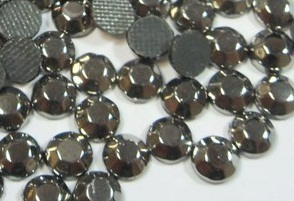 1000 Strass thermocollant SS10 couleur  Argent