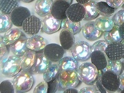 1000 Strass thermocollant SS10 couleur Cristal AB