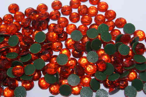 200 Strass Thermocollant SS30 Orange