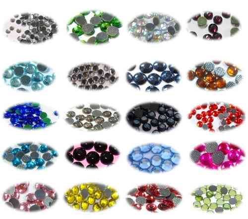 KIT 20000 Strass SS16 - Assortiment de 20 Coloris