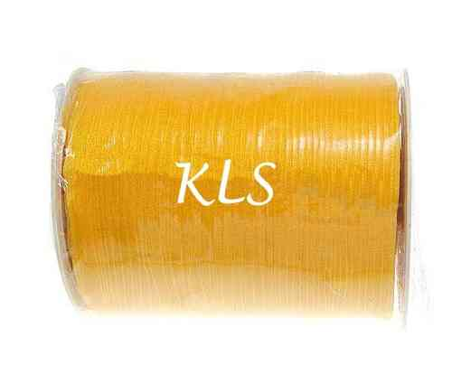 Ruban organza, orange, 6mm, Longueur:20 m