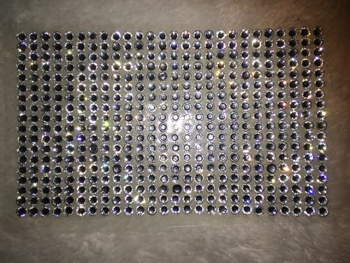 468 Strass autocollants SS20 (5mm), Cristal