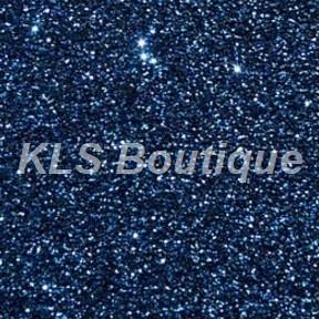 b5172d4a6b0 Feuille Flock 30cm x 20cm Bleu Marine Pailleté